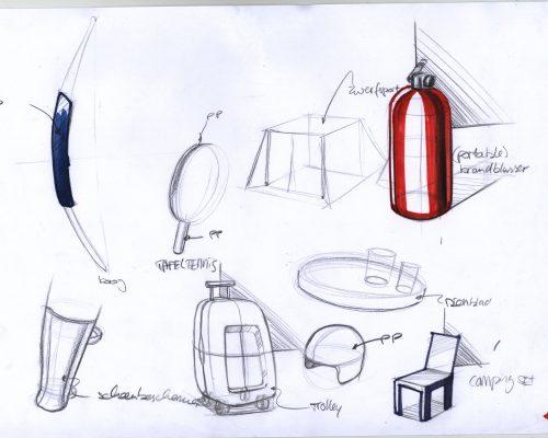 Idee schets